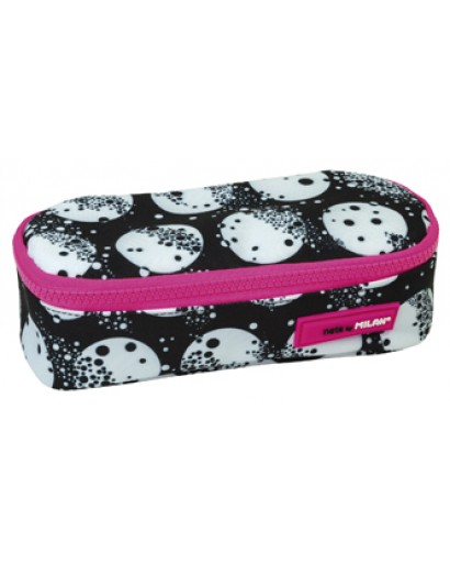 MILAN 081130MM OVAL-SHAPED PENCIL CASE MOON