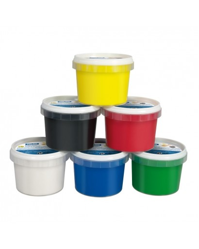 MILAN 5906 FINGER PAINT CONTAINING 6 x 100 ML