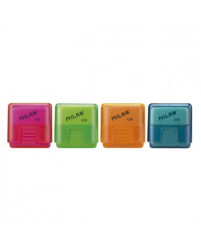 MILAN LOOK 430LK ERASERS PROTECTIVE CASE CAN OF 60
