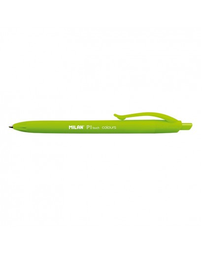 MILAN 176552212 P1 TOUCH GREEN BALLPEN BOX OF 12