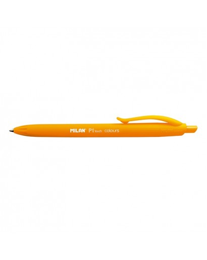 MILAN 176554212 P1 TOUCH ORANGE BALLPEN BOX OF 12
