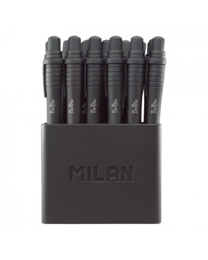 MILAN 17657010219 SWAY PENS BLACK BOX OF 19