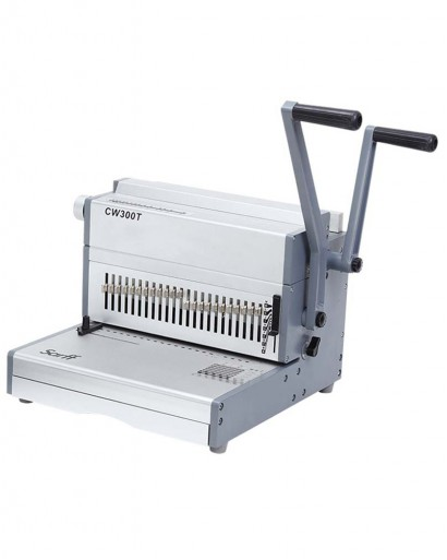 SARFF 300T 2:1 Wire Spiral Binding Machine
