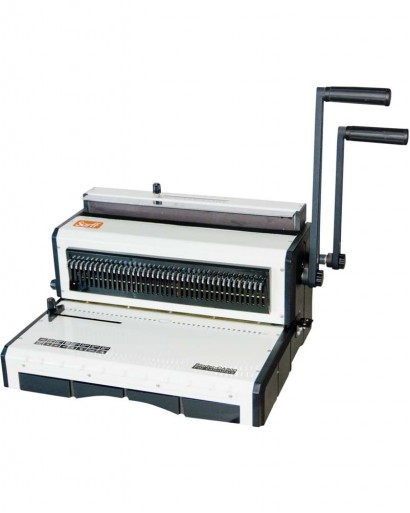 SARFF CA900 Calendar Binding Machine (4x5mm Oval Punch)