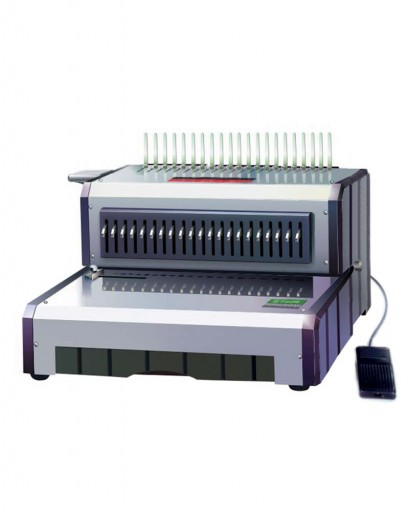 UBER D 160 Electric Plastic Spiral Binding Machine